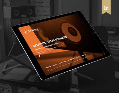 DarkBeatz Studio website