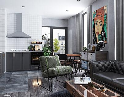 Studio apartment - chill time