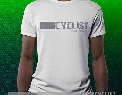 T-shirts Cyclist Respect - Colection