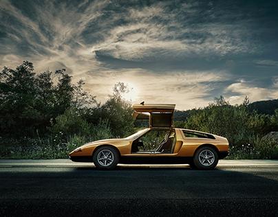 Mercedes C111 Conceptcar by Steffen Jahn