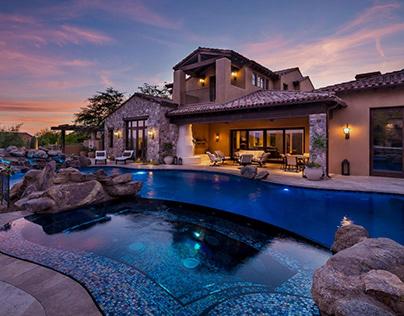 Stunning photo of inground pool design