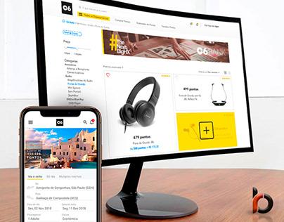 Sugestão criativa para marketplace C6 Bank