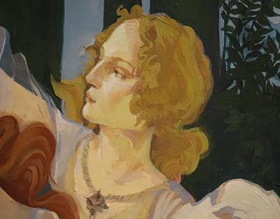 "Copy of ""Primavera"" Botticelli"