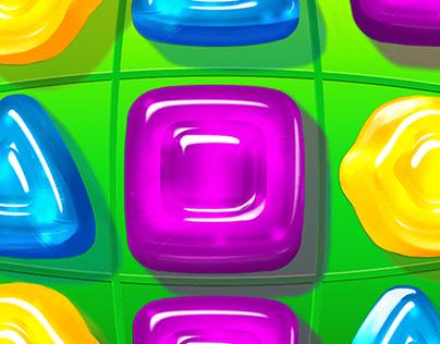 Gummy Drop Icon