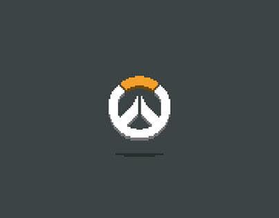 Pixel Art_Overwatch Characters