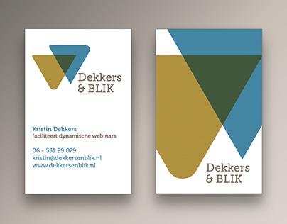 Logo and brand identity for a communication bureau