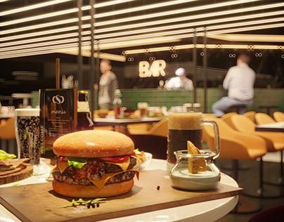 Modern Bar | CGI