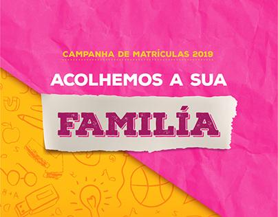 Campanha de Matrículas Colégio Farroupilha 2019