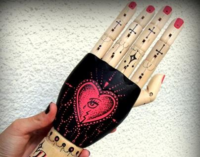 Break My Heart Tat-a-Hand