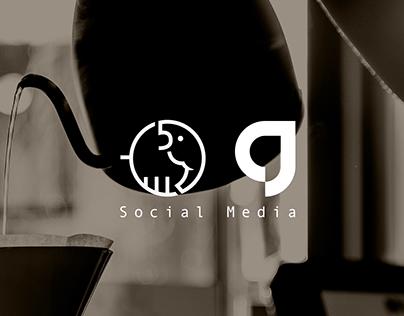 Five Elephants Coffee - Social Media