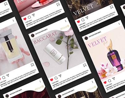 Social Media Perfume