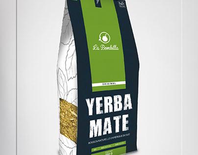 LaBombilla -YerbaMate -Brand&Identity -Product Label