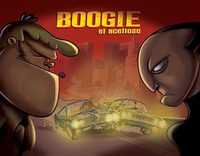 Boogie el aceitoso, la pelicula