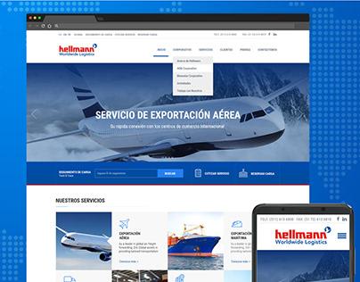 Web Design Hellmann Perú