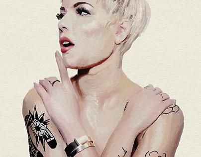Halsey Portrait