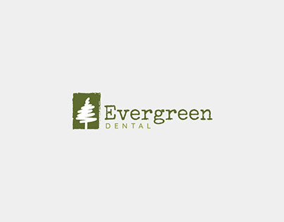 Evergreen Dental Logo Design