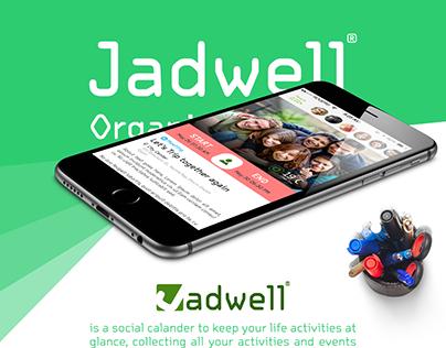 Jadwell | Concept UX/UI Design | 2015