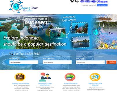 desain web pariwisata