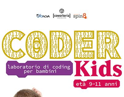 Coder Kids - laboratorio di coding per bambini