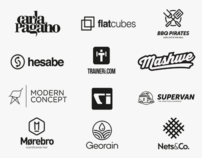 If it works in black and white // Logofolio