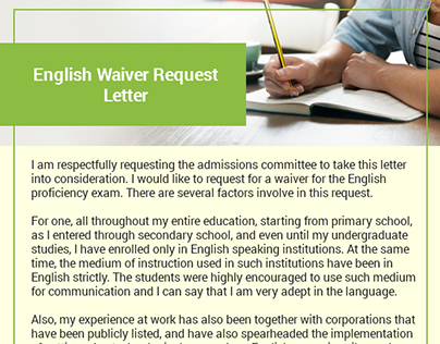 Waiver letter on pantone canvas gallery english waiver letter sample thecheapjerseys Gallery