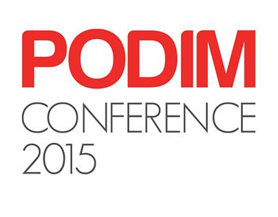 PODIM Conference - web design