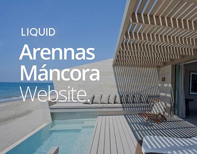 Arennas Máncora Website
