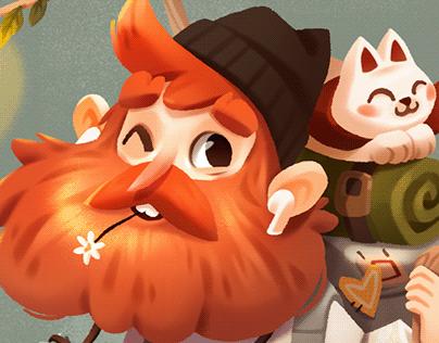 Gingerbeard