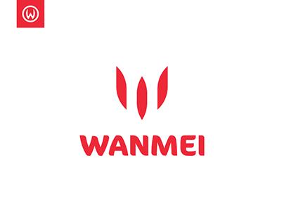 Wanmei Logo Design & Brand Identity