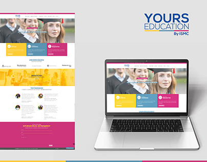 Yours Education - Página Web