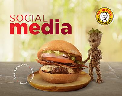 Sr. Divino | Social Media | Agência MegaideaCOMM