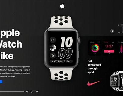 Apple Watch Nike UI