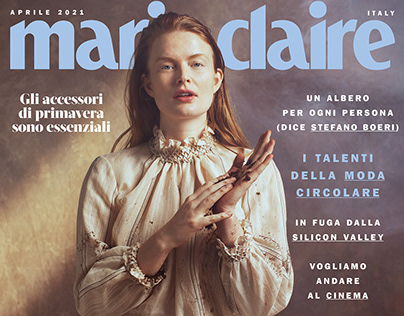 Marie Claire Italy April 2021