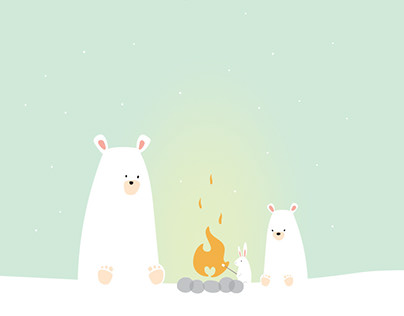 Snowflake Place Annual Report Illustrations