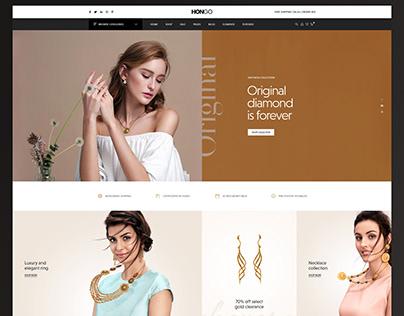 Hongo WooCommece WordPress Theme - Jewellery