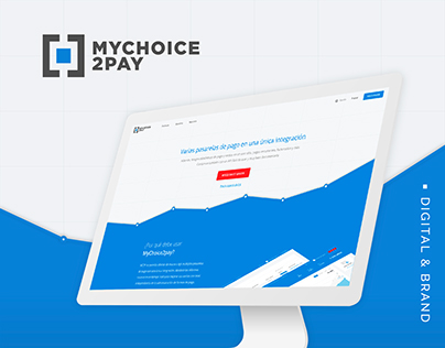 Mychoyce2Pay. Website & Branding