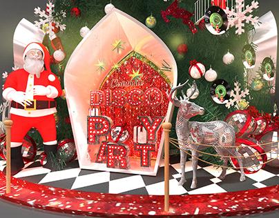 Christmas decoration @Taikoo Hui