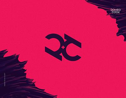 Logo design for Romeo+Cook
