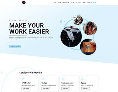 Hydra Infosys E-Commerce website ui-ux design