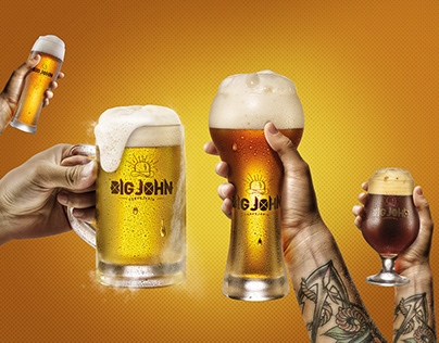 Cervejas Artesanais - Big John Cervejaria - Publicidade