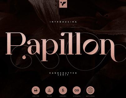 Papillon Serif font   Free Download