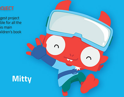 Cartoon Character Design-Mitty