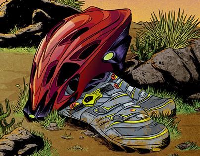 Bike Gear Illustration
