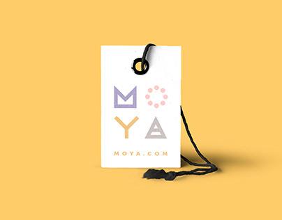 MOYA brand identity