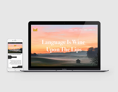 Wine Merchant UX/UI Web Project