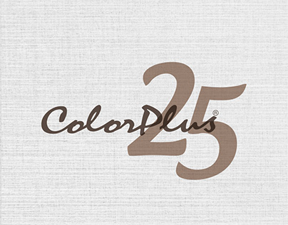 COLORPLUS - 25 Years Logo