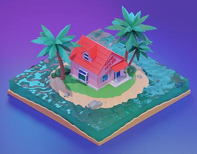 3D KAME HOUSE