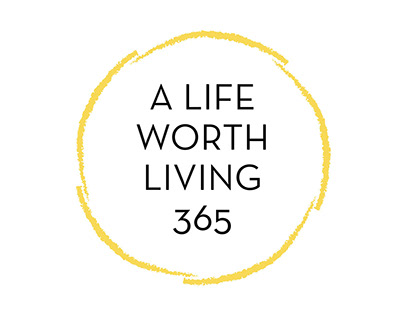 A Life Worth Living 365 Logo and Landing Page