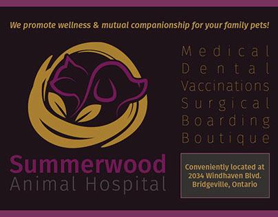 Animal Hospital Direct Mail Postcard