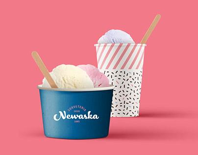 Sorveteria Newaska / Ice Cream Shop Brand Identity